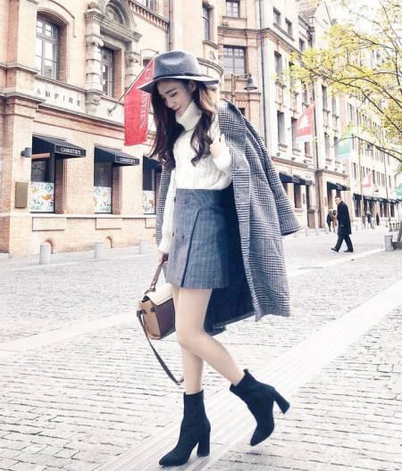 Áo khoác dáng dài, thời trang mùa lạnh, công thức mix đồ, mặc đẹp, mix đồ, cua so tinh yeu