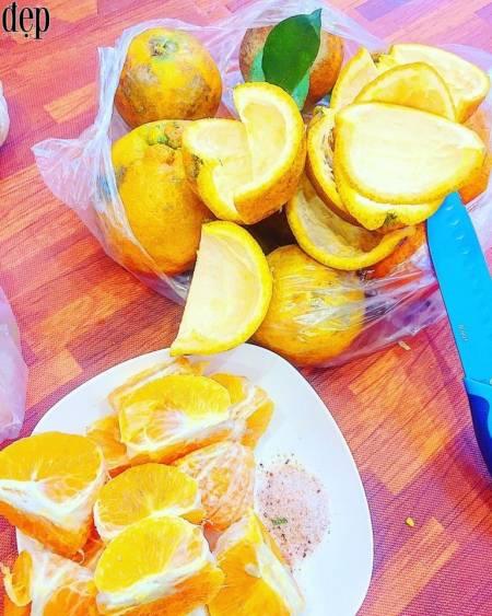 cách làm mứt vỏ cam, mứt vỏ cam, hướng dẫn làm mứt vỏ cam, mứt tết, món ngon ngày tết, cua so tinh yeu