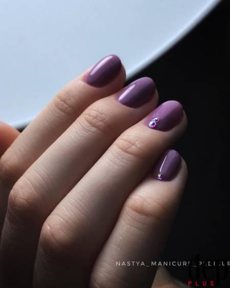 nails, sơn móng tay, nails tím, tím vô cực, xu hướng nail, tết 2018, cua so tinh yeu