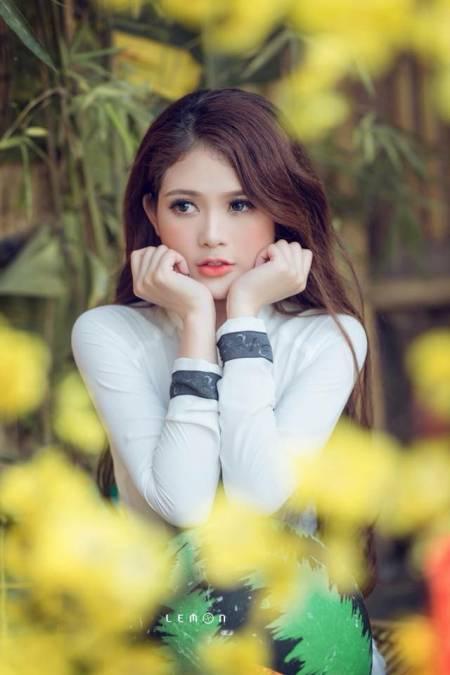 phong cách thời trang, áo dài cách tân, thời trang áo dài, thời trang cho dáng người, cua so tinh yeu