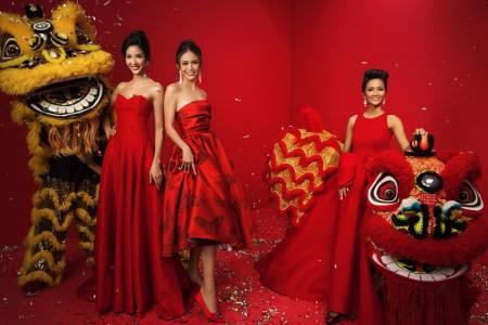 sao Việt, Hoa hậu Hoàn vũ Việt Nam, H'Hen Niê, Hoàng Thùy, hoa hậu hoàn vũ, mâu thủy, showbiz Việt, cua so tinh yeu