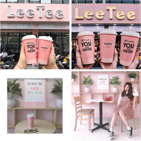 hồng pastel và xanh lơ, phong cách Hàn Quốc, không gian lãng mạn, món tráng miệng, giới trẻ Hà Nội, giới trẻ Sài Gòn, ăn cả thế giới, món ngon phải thử, Sài Gòn, Hà Nội, quán cafe, quán trà sữa, cua so tinh yeu