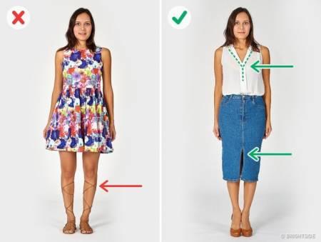 mặc đẹp, trang phục, thời trang, quần áo, lựa chọn trang phục, ăn mặc, mẹo vặt, cua so tinh yeu