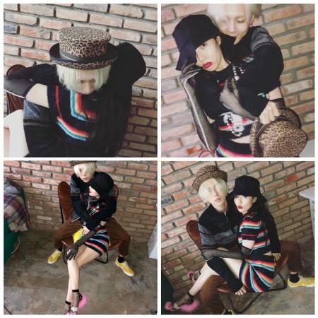 hyuna (4minute), e'dawn (pentagon), Yeeun (Wonder Girls), Jinwoon, taeyeon (snsd), baekhyun (exo), park yoochun (jyj), kahi (after school), cặp đôi chị em, cua so tinh yeu