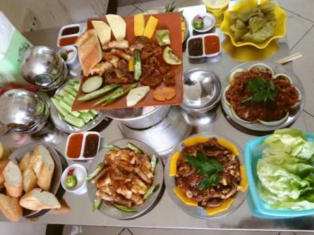 Một số quán, nướng lụi, tại Hà Nội, cửa sổ tình yêu.