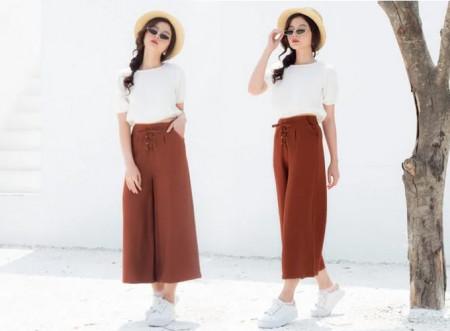 Store Ngôi Sao, mua sắm trên Store Ngôi Sao, thời trang nữ, quần ống rộng, quần culottesmix & match, cua so tinh yeu