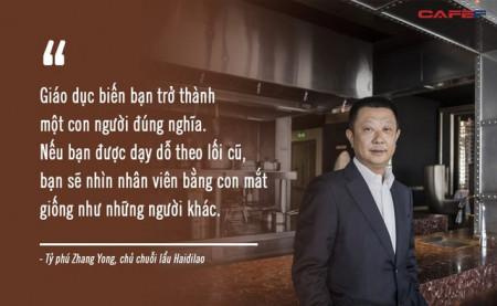 tạp chí Forbes, tỷ phú Trung Quốc, người giàu nhất Singapore, anh em nhà họ Ng, vua lẩu Haidilao, tỷ phú Zhang Yong, cua so tinh yeu