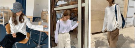 áo dài tay, mix & match, áo len mỏng, street style, phối đồ, mặc đẹp, thời trang mùa lạnh, cua so tinh yeu