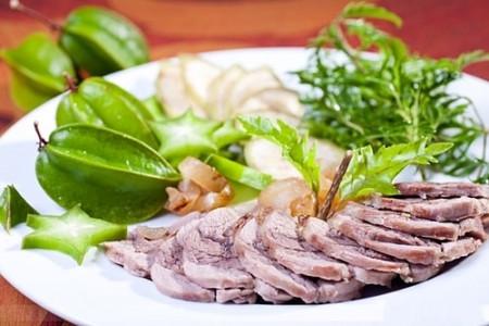 Ba Vì, Dã quỳ, Ẩm thực, Đà điểu, Dê, 5 món ăn nên thử, mùa hoa dã quỳ, cua so tinh yeu