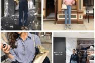 Mặc đồ đẹp, Áo sơ mi, Áo sơ mi oversized, Quần âu, Quần jeans, Xu hướng 2019, Thời trang xuân hè, cua so tinh yeu
