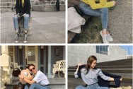 mặc đẹp,  mix đồ, quần jeans, giày, mốt14, cua so tinh yeu