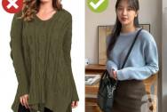 chuyện công sở, mix đồ, áo len, mặc đẹp, thời trang công sở, cua so tinh yeu
