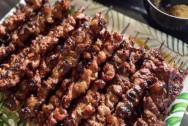 thịt nướng, thịt xiên nướng, món ngon