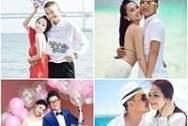 ảnh cưới, kim hiền, sao việt, cặp đôi, quỳnh nga, doãn tuấn, đăng khôi, đám cưới, ngọc thạch