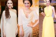 style sao Việt, sao mặc đẹp, style nữ thần Hy Lạp, mai phương thúy, thụy vân, thanh hằng, ngọc trinh
