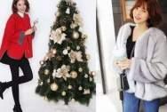 năm mới, giáng sinh, làm đẹp, áo khoác, thời trang, áo len, món đồ bổ trợ