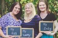 làm mẹ, mang bầu, mang thai hộ, mang thai, thụ tinh ống nghiệm