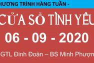 Nghe Cửa Sổ Tình Yêu mới nhất ngày 06-09-2020   TƯ VẤN TÂM LÝ ĐINH ĐOÀN   Cửa Sổ Tình Yêu 2020