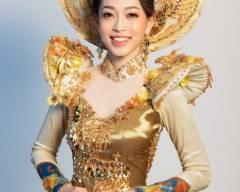 showbiz Việt, sao Việt, Bùi Phương Nga, á hậu phương nga, Miss Grand International 2018, phương nga, Trang phục dân tộc, thời trang, cua so tinh yeu