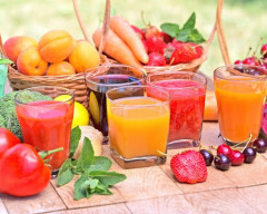 sống khỏe, nước ép trái cây, lợi ích của hoa quả