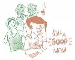 phụ nữ hoàn hảo, bà mẹ hoàn hảo, con dâu tốt, người vợ tốt, người mẹ tốt, tình yêu gia đình, áp lực với phụ nữ