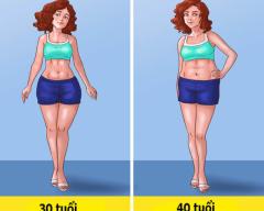 phụ nữ, già trước tuổi, phụ nữ ngoài 30, cơ thể lão hóa