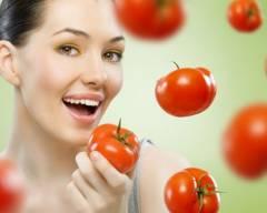 làm đẹp, giảm cân, cà chua, phương pháp,