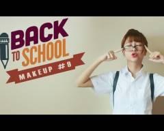 trang điểm đến trường, makeup, back to school,