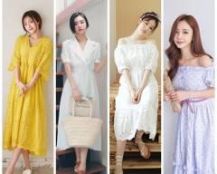 đẹp, thời trang, trang phục mùa hè, váy hè, váy hoa, họa tiết gingham