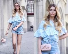 thời trang, xanh baby, xu hướng màu, cua so tinh yeu