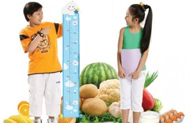 chiều cao, tăng chiều cao cho trẻ, cua so tinh yeu
