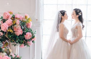yêu xa, LGBT, đồng tính nữ, xinh đẹp, kết hôn, cua so tinh yeu