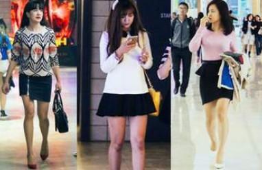 thời trang, phái đẹp, phong cách, chân váy, quần skinny, áo dạ dáng dài