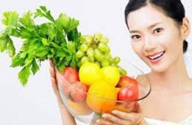 Chăm sóc da, làm đẹp, chống oxy hóa, lão hóa, rau quả, hoa quả