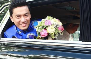 Lam trường, yến phương, đám cưới, kết hôn, xe hoa, rước dâu