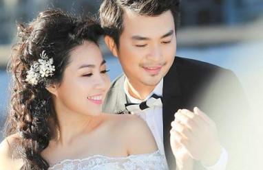 Lê khánh, diễn viên, tuấn khải, ảnh cưới, kết hôn, đám cưới
