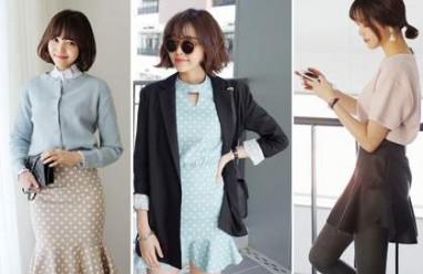 Váy loa kèn, thời trang công sở, xu hướng thời trang mùa hè