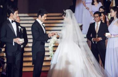 Angelababy, Huỳnh Hiểu Minh, sao Hoa ngữ  , đám cưới