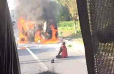 Xe ôtô , Trung Quốc , Lính cứu hỏa , Hỏa hoạn,  Weibo,  Mạng xã hội