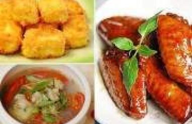 thuc don bua trua, thuc don hang ngay, mon an ngon, học nấu ăn, nấu ăn ngon, mon ngon hang ngay, ẩm thực, mon ngon viet nam,