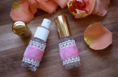 nước hoa hồng  ,   tự làm  ,   hand made