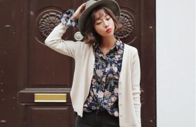 đẹp, thời trang, cardigan ,trang phục, mùa thu, phong cách