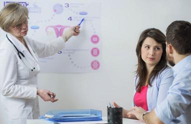 Ra dịch nhầy trắng trong sau bơm IUI có làm giảm sự thụ thai?