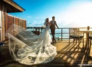 ảnh cưới, ảnh cưới đẹp, Maldives,