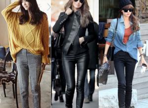 Thời trang, quần nữ, quần dạ, quần jean, quần da, quần legging, thời trang thu đông