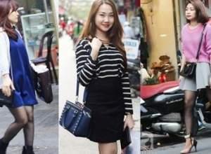 phong cách, thời trang, street style, phái đẹp hà thành, mặc đẹp
