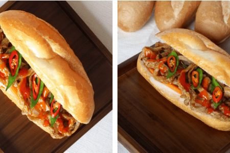 bánh mì, Bánh mì má Hải, bánh mì xíu mại, bánh mì phá lấu, bánh mì bò nướng Campuchia, Sài Gòn, Bánh mì que, ăn cả thế giới, cua so tinh yeu
