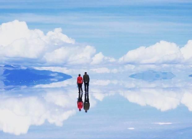 ảnh đẹp, biển muối Bolivia, cua so tinh yeu