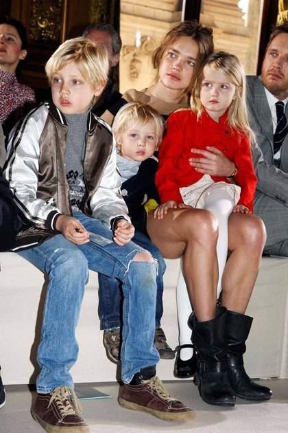 Người mẫu Natalia Vodianova và các con
