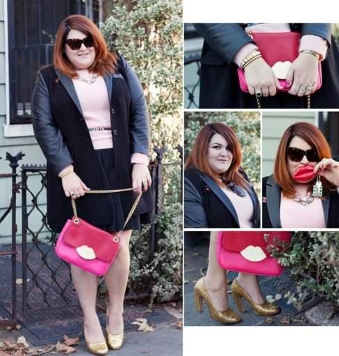 Không khó để nhận ra, nữ biên tập viên thời trang này là fan của tông hồng.